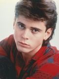 Portrait of Thomas Howell in Red Checkered Shirt
