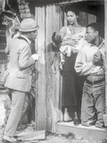 Porgy And Bess Man Talking to Couple with Baby Scene Excerpt from Film