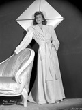 Mary Martin on a Long Sleeve Dress standing Portrait