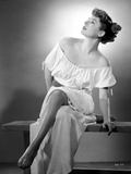 Ruth Roman Seated in Classic Portrait