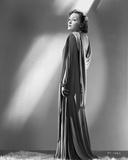 Gloria Swanson Side View Posed in Dress Portrait