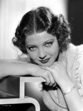 Sylvia Sidney Face on Hand Pose