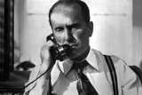 Robert Duvall Answering Phone in Detective Attire