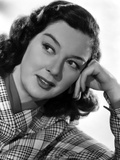 Rosalind Russell Head Leaning on Hand