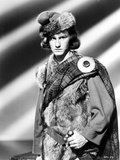 Roddy McDowell standing in Fur Coat Classic Portrait