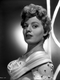 Shelley Winters Portrait in White Shoulder Dress