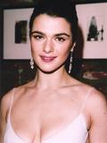 Rachel Weisz Portrait in White Sexy Dress