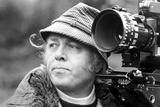 Richard Attenborough Candid Shot with Camera