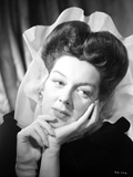 Rosalind Russell Leaning on Hand