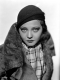 Sylvia Sidney in a Furry and Thick Coat