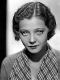 Sylvia Sidney wearing a Printed Collar Blouse
