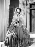 Rosalind Russell in Gown with Hat