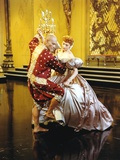 Yul Brynner Dancing with a Lady in Shiny Dress