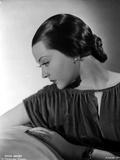Sylvia Sidney wearing a Ruffled Blouse