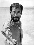 Toshiro Mifune at Beach