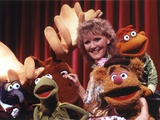 Petula Clark Group Picture with Kermit