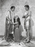 Quo Vadis Woman Begging in Between Two Men Scene Excerpt from Film in Black and White