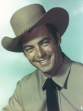 Rory Calhoun wearing Cowboy Hat Painting