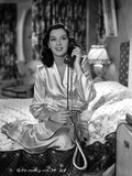 Rosalind Russell in Bathrobe With Telephone