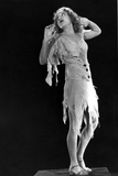 Fay Wray Posed in Tattered Clothes