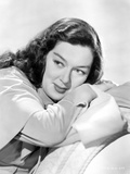 Rosalind Russell Leaning on Arms