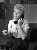 Shelley Winters Answering the Phone in a Portrait
