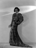 Talullah Bankhead on an Embroidered Dress and Hand on Waist