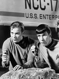 Spock and Kirk  Phasers set to Stun