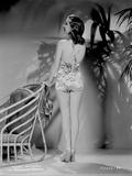 Susan Hayward wearing a Printed Swimsuit