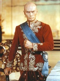 Yul Brynner in Red Long sleeves with Blue Sash