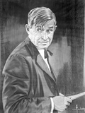 Will Rogers Posed in Black Suit with bow Tie