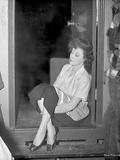 Susan Hayward wearing a White Silk Blouse