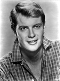 Troy Donahue Posed in checkered Polo
