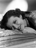 Sylvia Sidney Lying and smiling