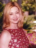 Sharon Lawrence in Floral Dress Portrait