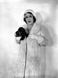 Ruth Roland Holding Camera in Classic