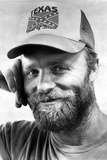 Ed Harris in Shirt With Cap Close Up Portrait