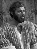 Richard Burton Posed in King Attire