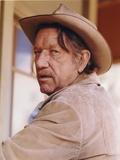 Richard Boone Posed in Cowboy Attire