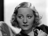 Talullah Bankhead Looking Away Portrait