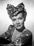 Penny Singleton wearing Ribbon Hair Band Portrait with White Background
