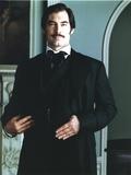 Timothy Dalton Portrait in Black Tuxedo
