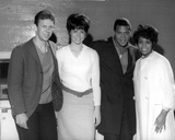 Chubby Checker With Cast Portrait