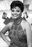 Leslie Uggams posed in Portrait with Elegant Dress