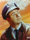Tim Conway Portrait in Pilot Uniform