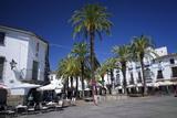 The Plaza Mayor  Zafra  Andalucia  Spain