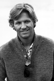 Jeff Bridges Posed in Sweater With White Background