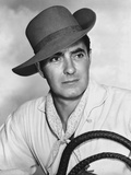 Tyrone Power in Formal Outfit With Hat Portrait