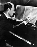 George Gershwin in Black Suit