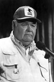 Jonathan Winters Posed in White Suit